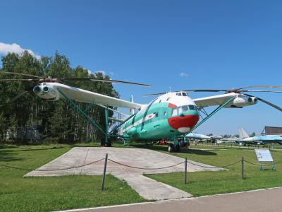 モスクワひとり旅 2019 その5 郊外電車でモニノ航空博物館へ