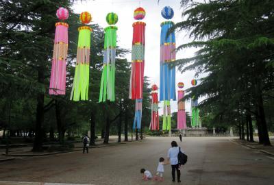 2019初夏、鶴舞公園と古墳巡り(1):7月4日(1):名古屋市緑化センター、ユリ、芙蓉、バラ園、紫陽花