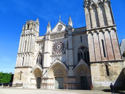 ポアティエ♪今日2度目のノートルダム・ラ・グラン教会とサン・ピエール大聖堂2019年5月フランス ロワール地域他8泊10日(個人旅行)175