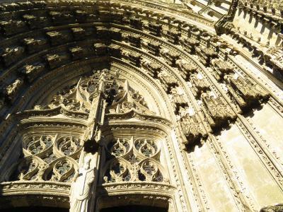 トゥールのサン=ガティアン大聖堂明日旅立つ私のために特別に開けていただいた2019年5月フランス ロワール地域他8泊10日(個人旅行)178