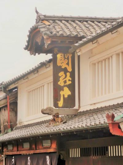 亀山市関町-3 宿場町・関宿 深川屋/関まちなみ資料館あたり ☆町並み保存事業の拠点に