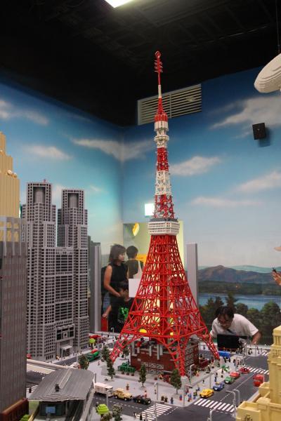 2019年お盆休みにレゴランド・ディスカバリー・センター東京へ行きました