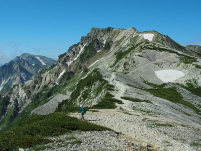 花の名山 白馬岳登山旅行 その4白馬岳から栂池へ 絶景の稜線歩きと白馬大池のお花畑編