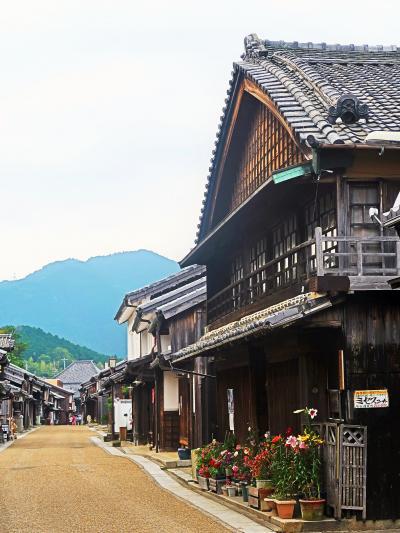 亀山市関町-4 宿場町・関宿 中町=まちなみ=道100選 ☆重要伝統的建造物群保存地区で