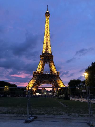 パリ母娘旅行⑥カフェドラペ、エッフェル塔