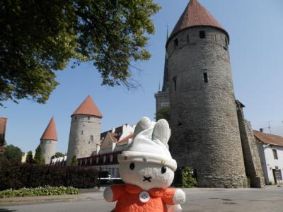グーちゃん、エストニアへ行く!(タリンの塔は、WONDER4!編)