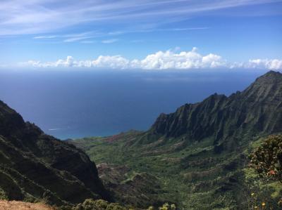 ハワイ・ハワイ島、カウアイ島
