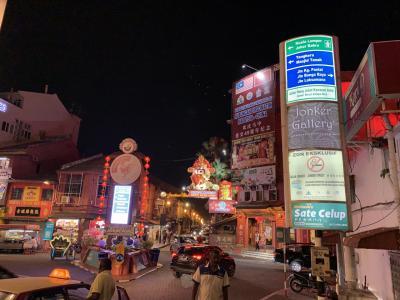 マラッカ・インド人街と夜の散歩