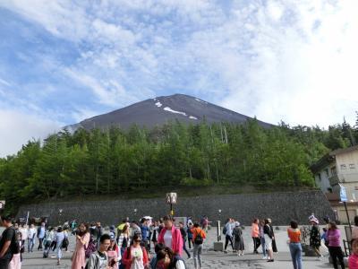 勝沼・富士山ツアー