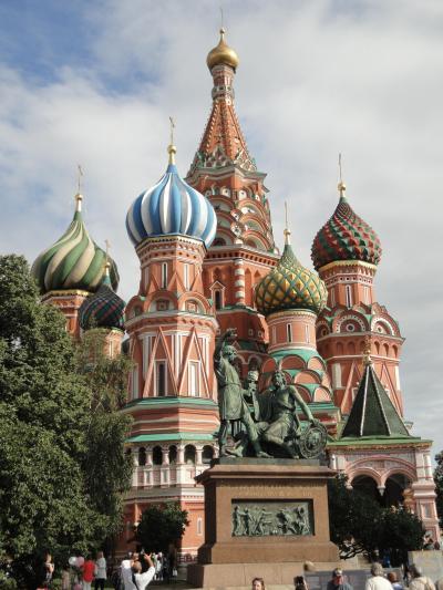 初めてのロシア