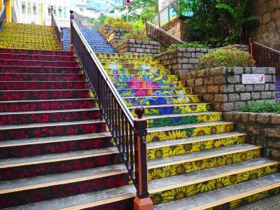 ふらっと香港+港珠澳大橋で行く日帰りマカオ【2日目後編~最終日:クリスタルジェイド&花の階段&帰国】