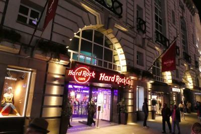 ハードロックカフェ ロンドン ピカデリーサーカス店