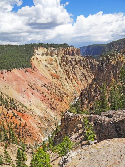 アメリカ イエローストーン国立公園 イエローストーン大峡谷