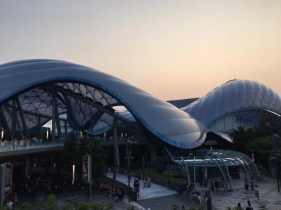 上海ディズニーランドを楽しみました!