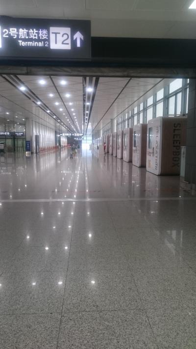 私もウルムチで考えた 西安空港編