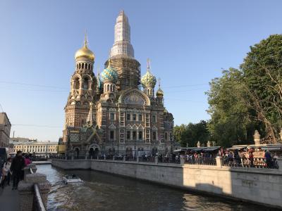 初めてのロシア サンクトペテルブルク