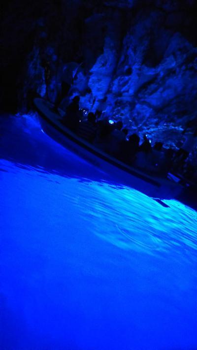 2019年夏クロアチア旅行-スプリット.青の洞窟-
