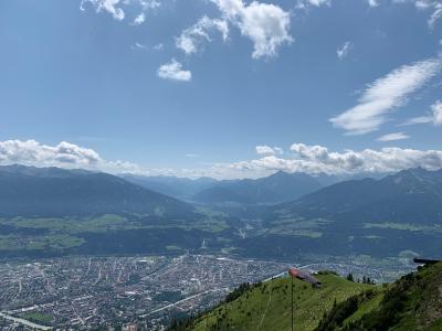 チロル・シュトゥバイタールで山歩きと氷河の旅 1日目はインスブルックでハーフェレカー