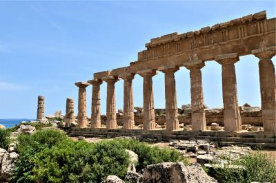 魅惑のシチリア×プーリア♪ Vol.184 ☆セリヌンテ:古代ギリシア遺跡 美しいC神殿♪