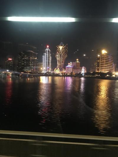 デモ真っ只中の香港からのマカオ旅。子連れ旅行。
