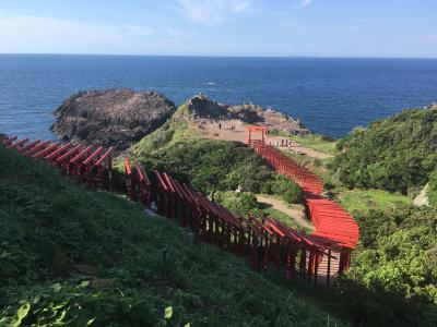 夏休み!山口県・角島を目指します。③千畳敷~元乃隅稲成神社~ホテル西長門リゾート