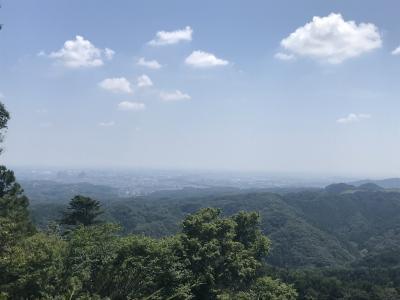 山頂まで行かない高尾山散策