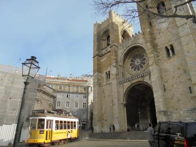 冬のリスボン、気ままに街歩き③市電28番に乗ってリスボン巡り