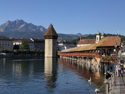 母娘旅で!10年ぶりにスイス(ルツェルンから帰国へ)
