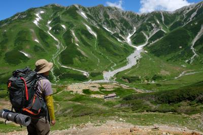 剱岳 剱沢キャンプ場での二泊三日のまったり登山