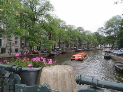 夏タビ、パリ&アムス★ ~③タリスで運河の街、アムステルダムへ♪
