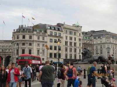 初ロンドン定番観光&事前予約シニア料金&在英息子一家の初孫に会いに、8泊10日の旅