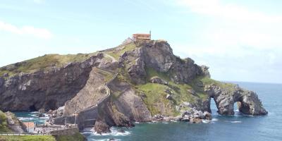 ビルバオからの日帰り旅行(1)―サン・ファン・デ・ガステルガチェ―