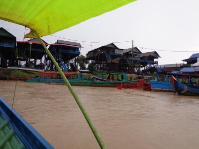 タイ~カンボジア4泊6日息子との二人旅行 郊外遺跡、トンレサップ湖の観光編