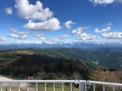 秋の茶臼山高原日帰り旅