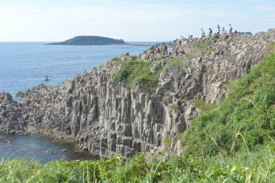 東尋坊の奇岩