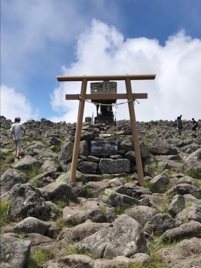 毎年恒例の夏山登山