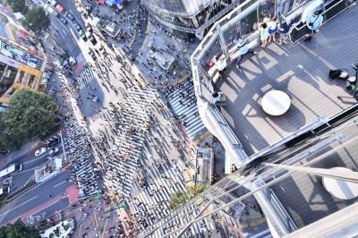2019年8月孫と二人で首都圏観光の2日目の後半~原宿と渋谷の街を見て廻る!! o(^-^)o