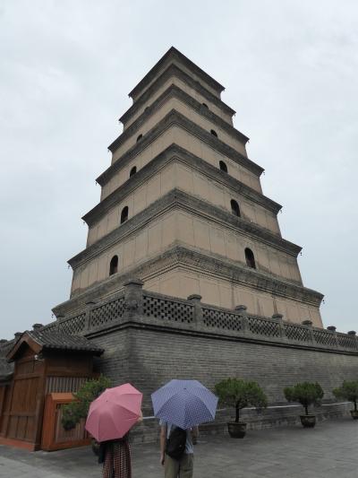 2019年8月西安の旅4大雁塔・碑林博物館・城壁