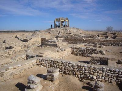 イスラエル10日間の旅(2) 聖書時代の遺丘群