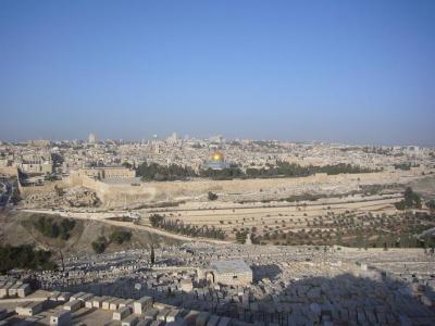 イスラエル10日間の旅(10) オリーブ山
