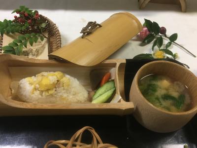 飯能の竹寺の精進料理と日帰り温泉のドライブ