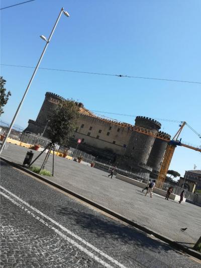 地中海クルーズの旅2日目  ナポリに到着!