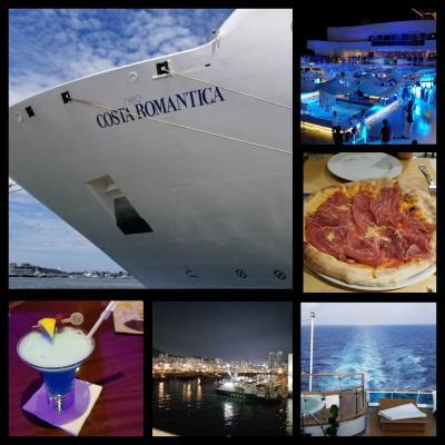 コスタ・ネオロマンティカに乗って人生二度目の船旅