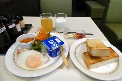 13.初夏の北海道4泊 旭川サンホテル レストラン樹林の朝食