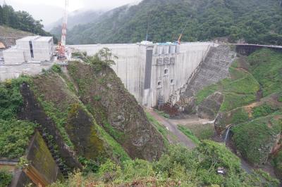 八ッ場ダムを見に行く