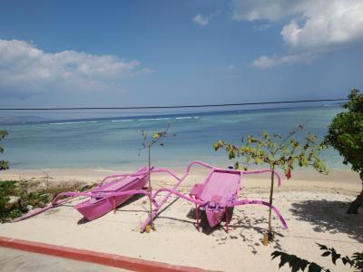 夫と行くバリ島&ギリアイル ④ギリアイル ピンクココ