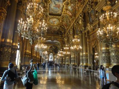 パリを拠点に北フランスを巡る旅【6】ファントムに敬意を表しながらオペラ座見学→マドレーヌ寺院