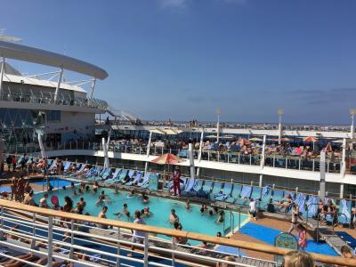 Oasis of the Seasで航く西地中海クルーズ03(at sea )