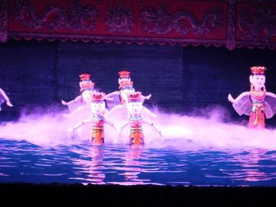 酷暑のハノイ旅行 2日目(水上人形劇)