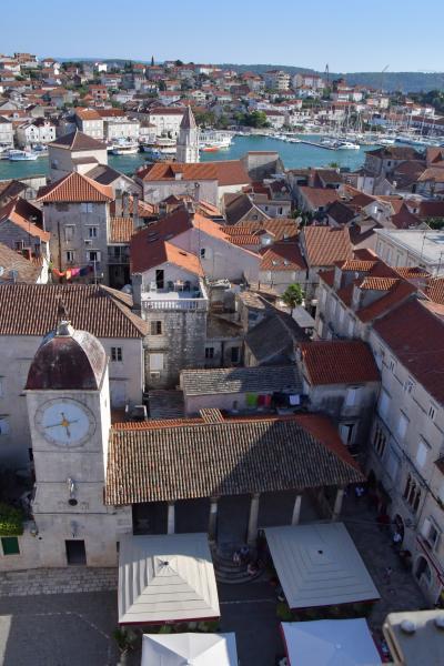 すんごく良かった~クロアチア&スロベニア #5 世界遺産の古都トロギール。高いところからの眺めがおすすめ